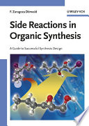 Side Reactions In Organic Synthesis Book PDF