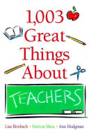 1 003 Great Things About Teachers