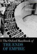 The Oxford Handbook of the Ends of Empire Pdf/ePub eBook