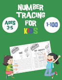 Number Tracing Books for Kids Ages 3 5 1 100