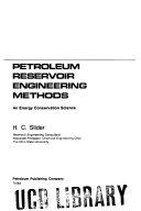 Practical Petroleum Reservoir Engineering Methods