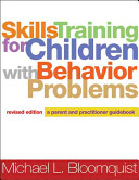 Cover of Skills Training for Children with Behavior Problems