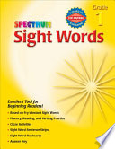 Sight Words  Grade 1 Book PDF