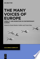 The Many Voices of Europe