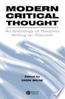 Modern Critical Thought