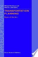 Transportation Planning Book