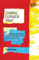 Pdf Creating Ecological Value