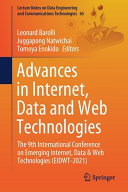 Advances in Internet  Data and Web Technologies