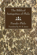Pdf The Biblical Antiquities of Philo Telecharger