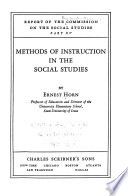 Report of the Commission on the Social Studies
