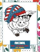 Adult Coloring Book Easy Mandala   Animal