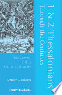 1 And 2 Thessalonians Through The Centuries Book PDF
