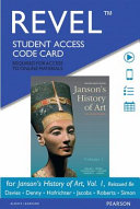 Janson s History of Art Revel Access Card