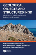 Geological Objects And Structures In 3d Book PDF
