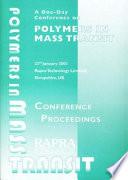 Polymers In Mass Transit Book PDF