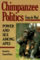 Chimpanzee Politics