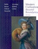 Western Civilization  Beyond Boundaries Book