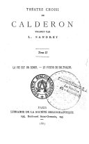 Théatre choisi de Calderon