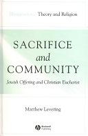 Sacrifice and Community ebook