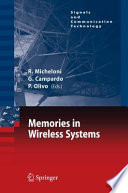 Memories In Wireless Systems Book PDF