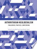 Authoritarian Neoliberalism