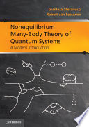Nonequilibrium Many Body Theory of Quantum Systems