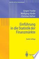 Einführung in die Statistik der Finanzmärkte