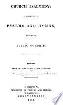 Church Psalmody