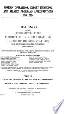 108-1 Hearings: Foreign Operations, Export Financing, and Related Programs Appropriations For 2004, Part 1B, 2003, *