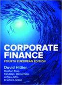 Print Book of David Hillier s CorporateFinance 4 e