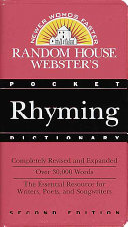 Random House Webster s Pocket Rhyming Dictionary
