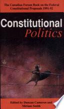 Constitutional Politics