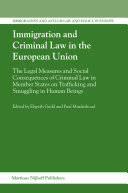 Immigration And Criminal Law in the European Union