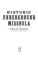 Historic Underground Missoula