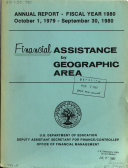 Financial Assistance by Geographic Area