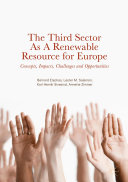Pdf The Third Sector as a Renewable Resource for Europe Telecharger