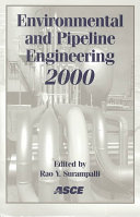 Environmental and Pipeline Engineering 2000 Book