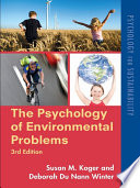 The Psychology of Environmental Problems Book