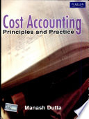 Cost Accounting Principles And Practice Book PDF