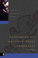 The NIV Matthew Henry Commentary in One Volume