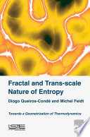 Fractal and Trans scale Nature of Entropy Book