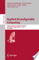 Applied Reconfigurable Computing Book