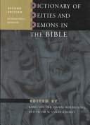 Dictionary of Deities and Demons in the Bible DDD