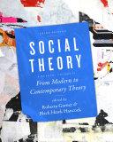 Social Theory  Volume II