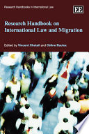 Research Handbook On International Law And Migration