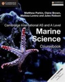 Books - Cambridge International As And A Level Marine Science Coursebook | ISBN 9781316640869