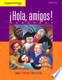 Cengage Advantage Books: Hola, Amigos! Worktext
