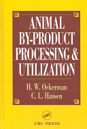 Animal By-Product Processing & Utilization