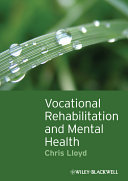 Vocational Rehabilitation and Mental Health