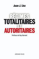 Pdf Régimes totalitaires et autoritaires